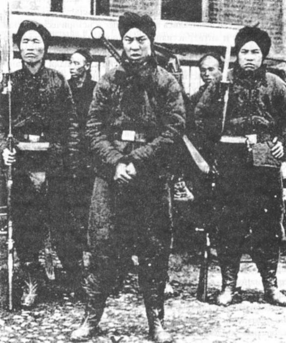 Ихэтуани («боксеры») – китайцы, восставшие против засилья иностранцев. ¦ Фото: history.wikireading.ru.