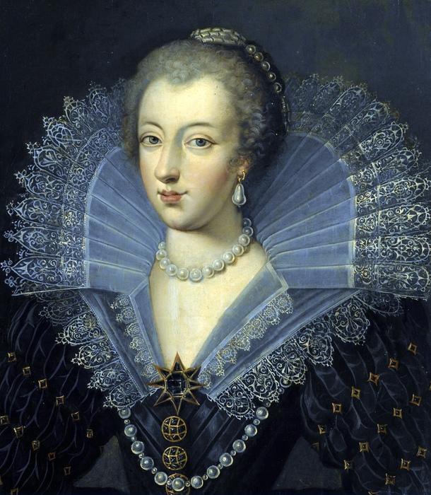 Портрет Анны Австрийской.